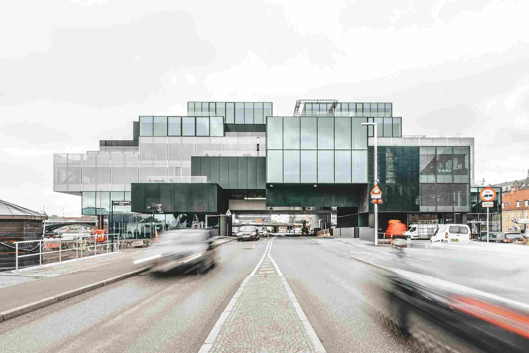 Arquitetura em Copenhague: edifício Blox, do escritório OMA