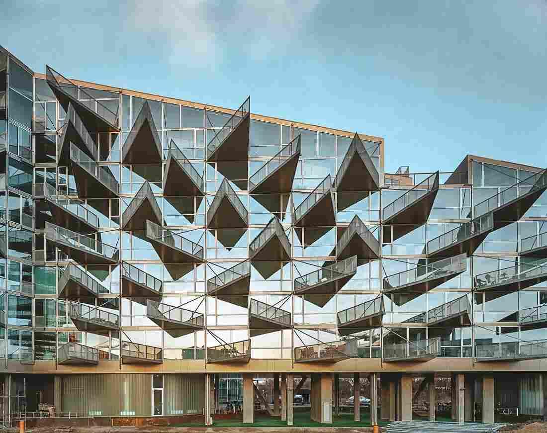 Arquitetura em Copenhague: VM Houses, do escritório BIG + JDS