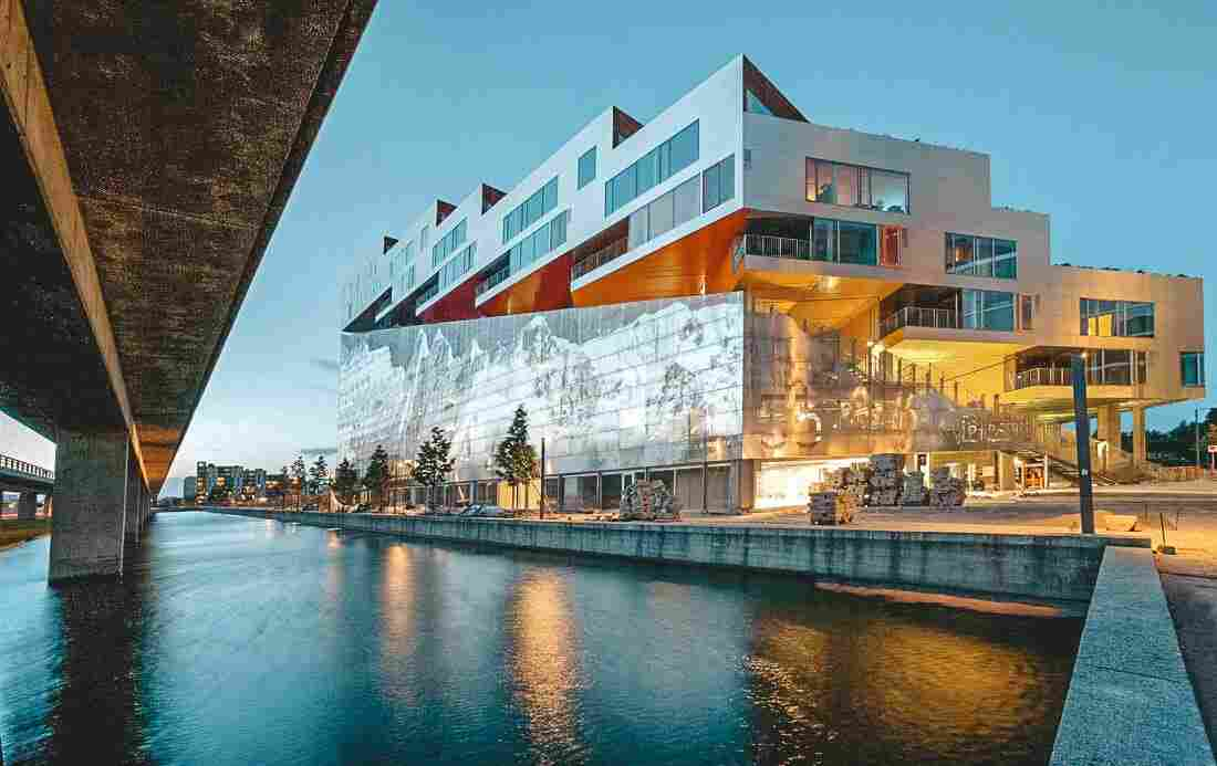 Arquitetura em Copenhague: VM Mountain, do escritório BIG + JDS
