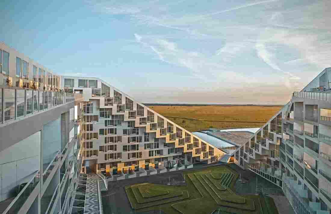 Arquitetura em Copenhague: 8 House, do escritório BIG