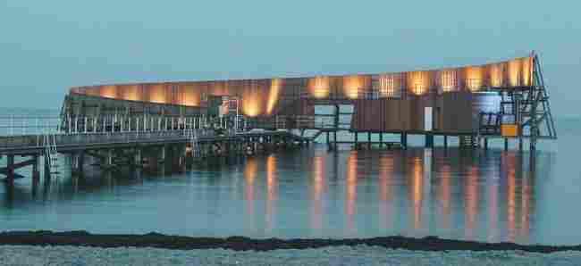 Arquitetura em Copenhague: Kastrup Sea Bath