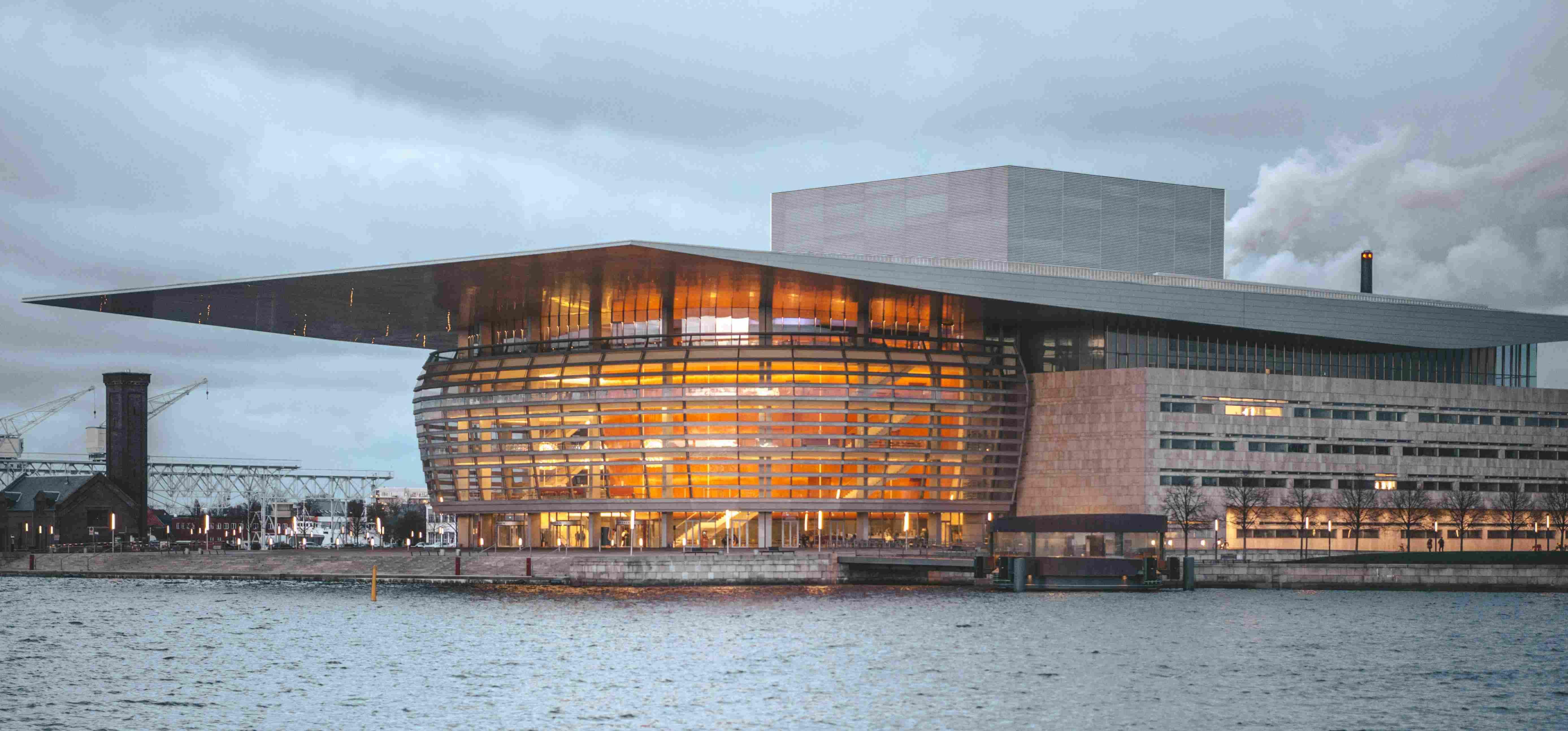 Arquitetura em Copenhague: Opera House, do arquiteto Henning Larsen