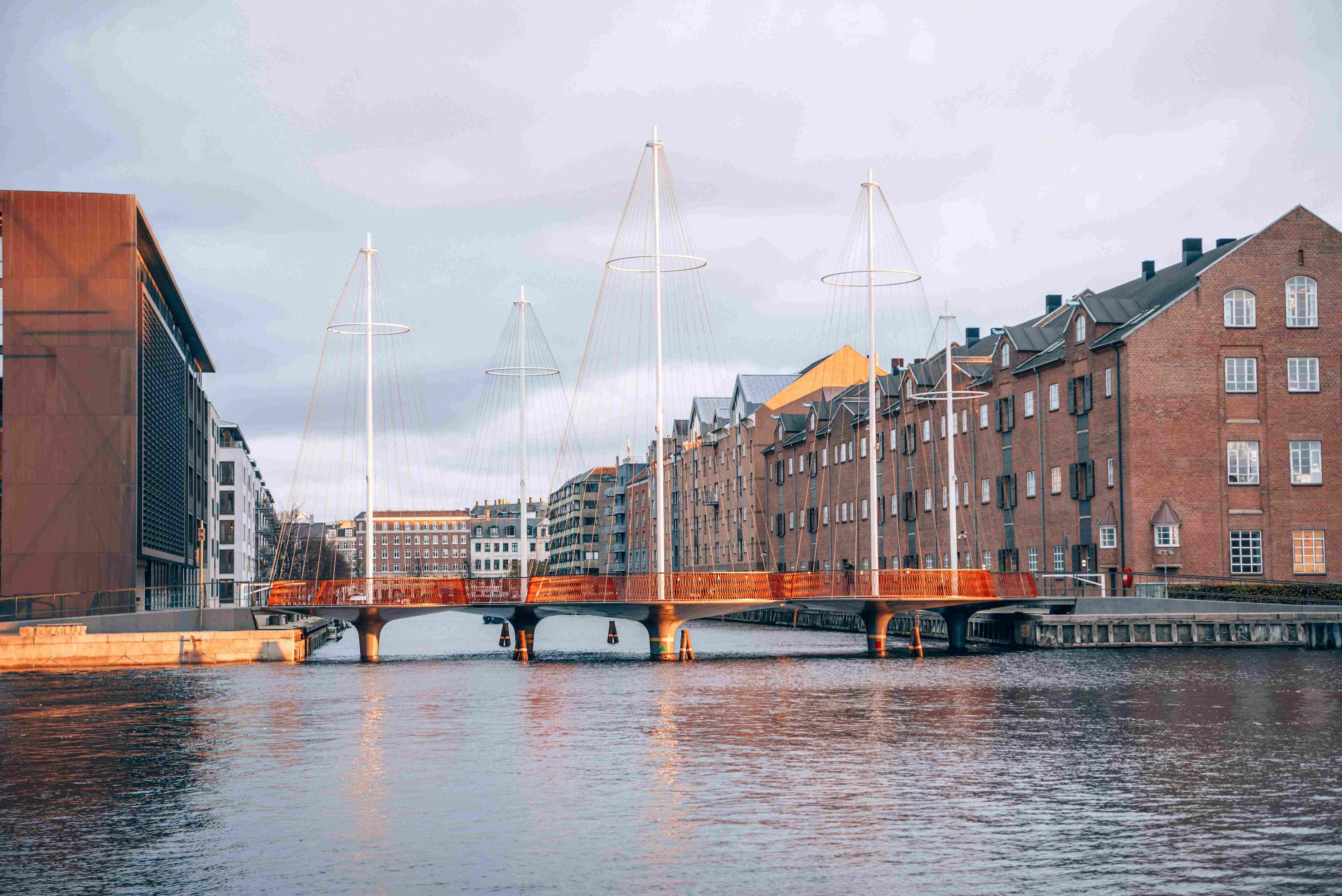 Arquitetura em Copenhague: Circle Bridge, do studio Olafur Eliasson