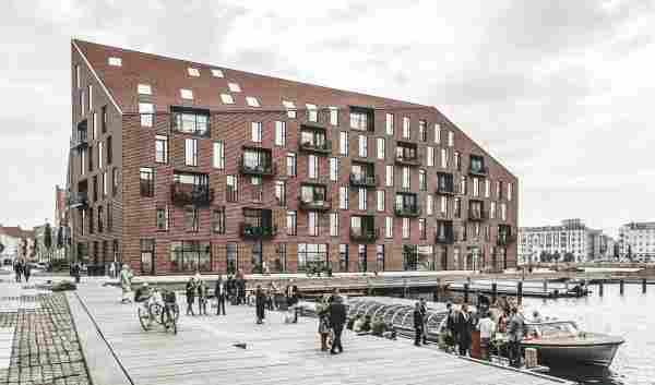 Arquitetura em Copenhague: edifícios da Kroyer Plads, do escritório COBE
