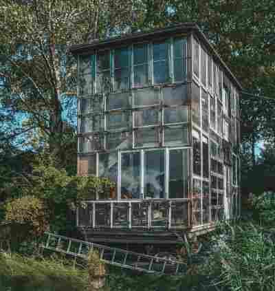 Arquitetura em Copenhague: Glass House, em Christiania