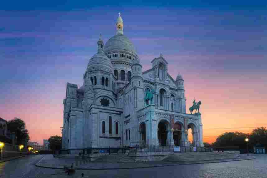 Basílica do Sagrado Coração, atração em Paris.