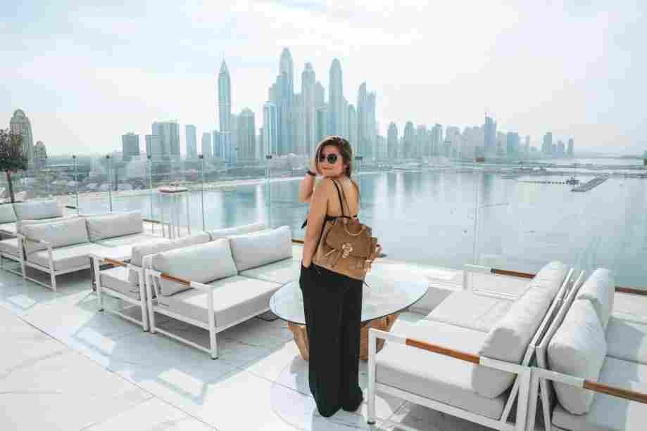 Hotel com vista para a Marina de Dubai
