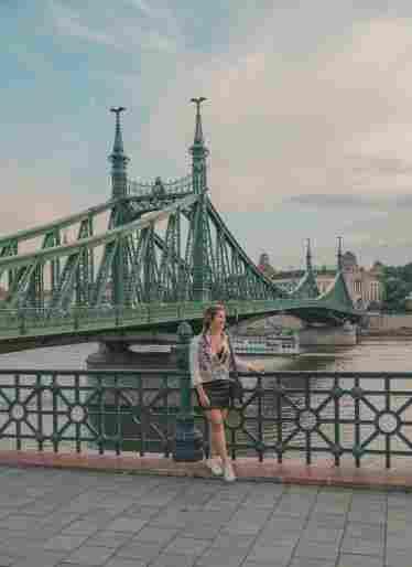 Ponte da Liberdade (Szabadság híd ou Liberty Bridge)