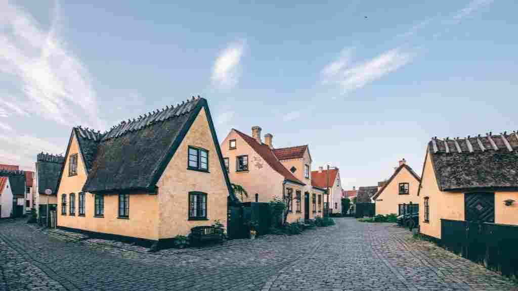 Vilarejos charmosos como Dragor são opção de bate-volta de Copenhague