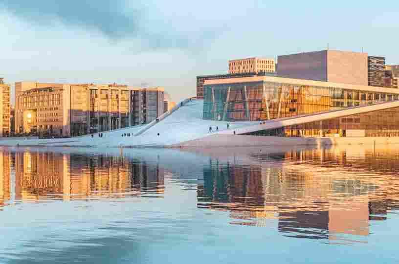 Prédios de arquitetura inovadora, Oslo.