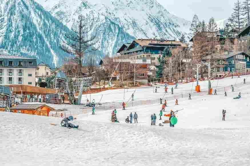 O vilarejo francês de Chamonix tem um dos complexos invernais mais procurados da Europa