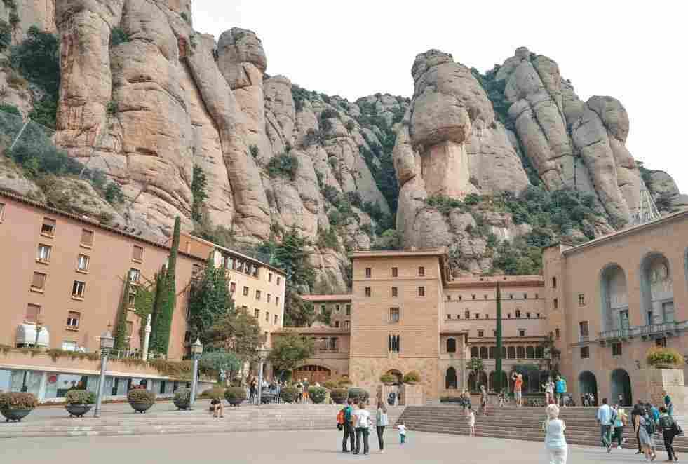 Montserrat, mosteiro nos arredores de Barcelona