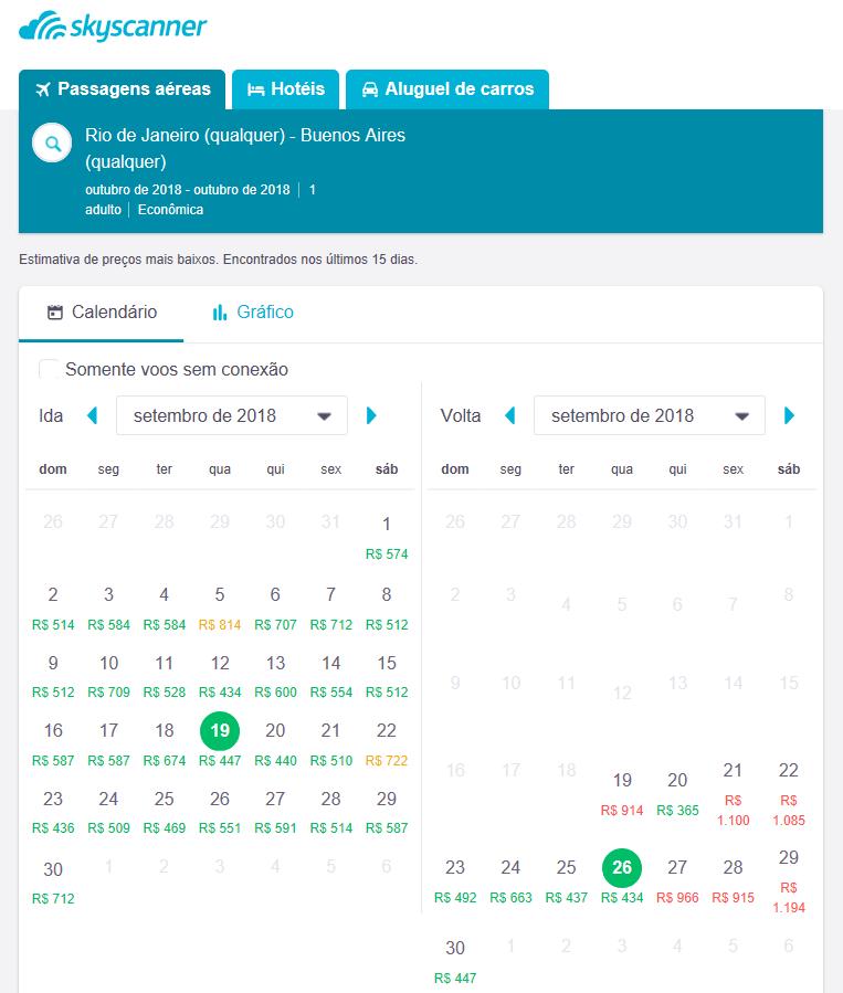 Determinados dias podem ser mais favoráveis para encontrar passagens aéreas baratas