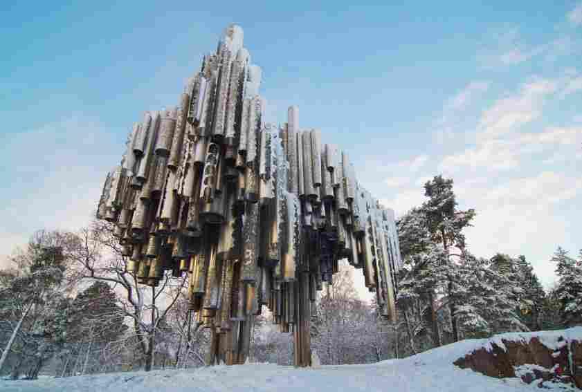 Escultura em Helsinque