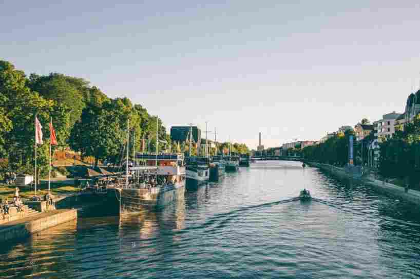 Canal em Turku