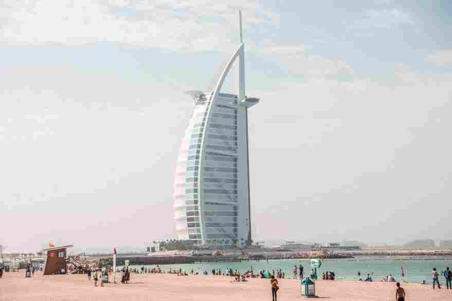 Burj Al Arab a distancia