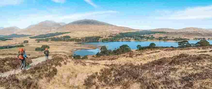 O West Highland Way é a trilha mais popular na região escocesa das Highlands